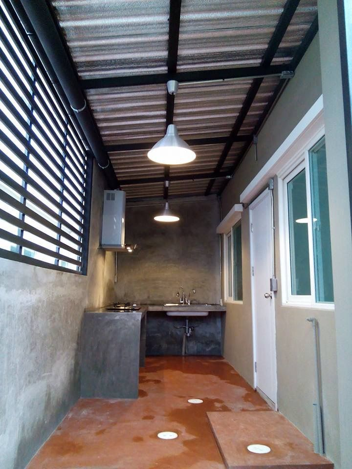 The joys of eating al fresco are multiplied when you. Bahay Kubo Simple Outdoor Dirty Kitchen Design Philippines ...