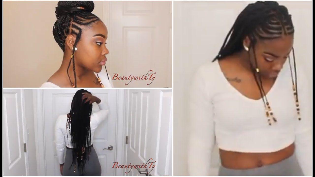 summer time braids | braids | fulani braids, braids, braided