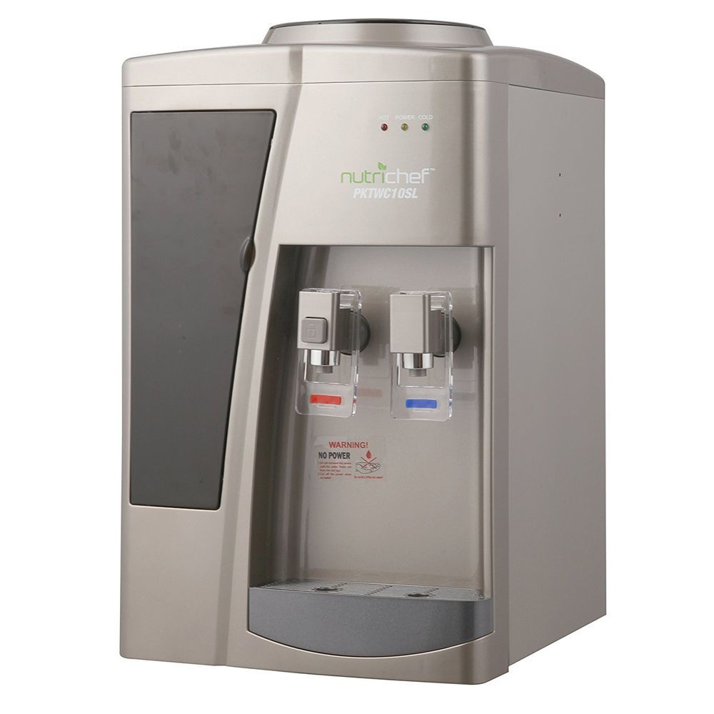 Counter Top Hot Cold Water Cooler Dispenser Lg Capacity Office