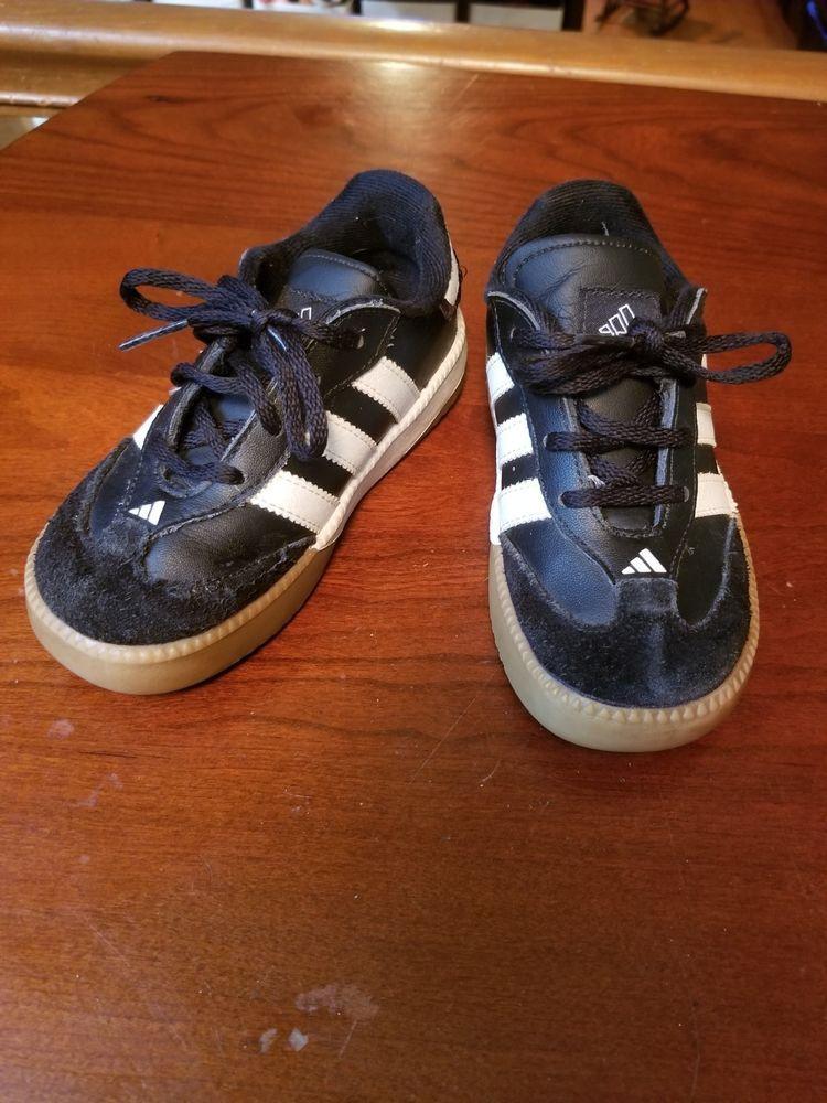 Toddler Boy Adidas Samba Shoes Size 9 Pre-owned  fashion  clothing  shoes 57e962b24