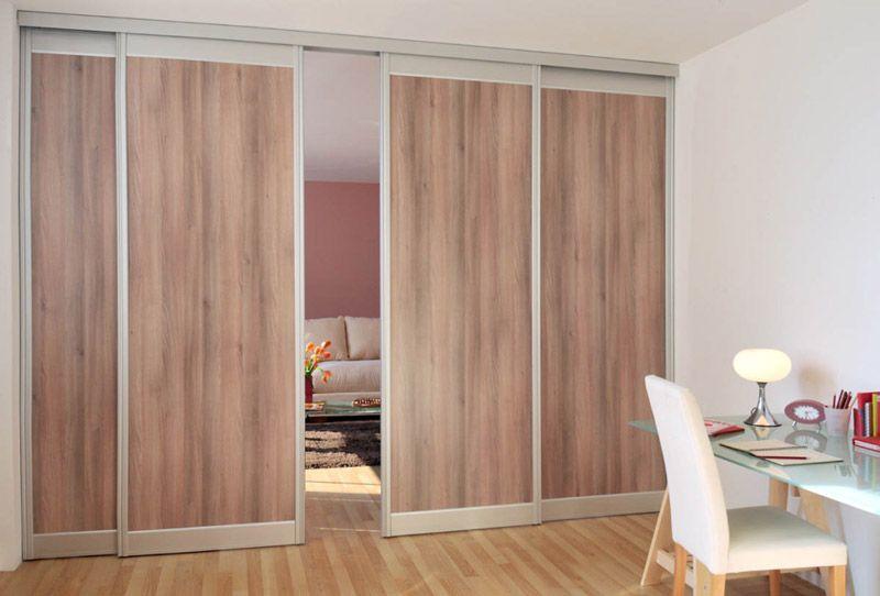 Portes Coulissantes Placards Dressings Pièces Sogal Portes - Porte coulissante separation de piece