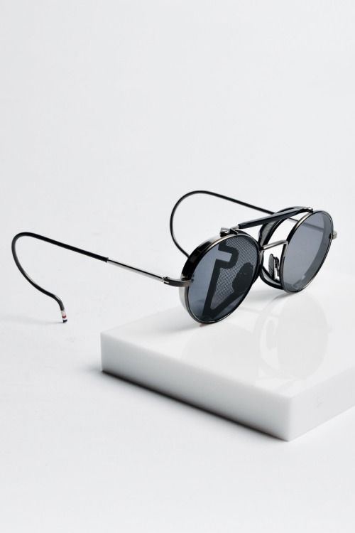 c54fb2f1ec7bd4 TRENDING  Thom Browne round sunnies inspired by John Lennon. Zippertravel.   DrStyle