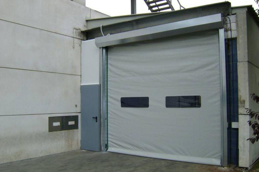 High Speed Self Repairing Doors Our New Self Repairing High Speed