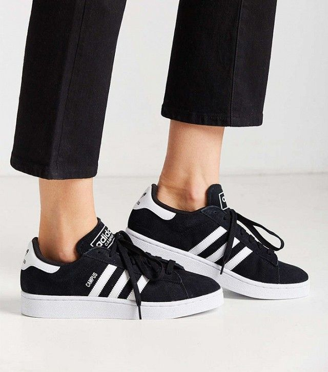 Celebrity Style Tips: 8 Outfits You'll Want to Wear Over and Over | Adidas  campus shoes, Black adidas shoes, Addidas shoes