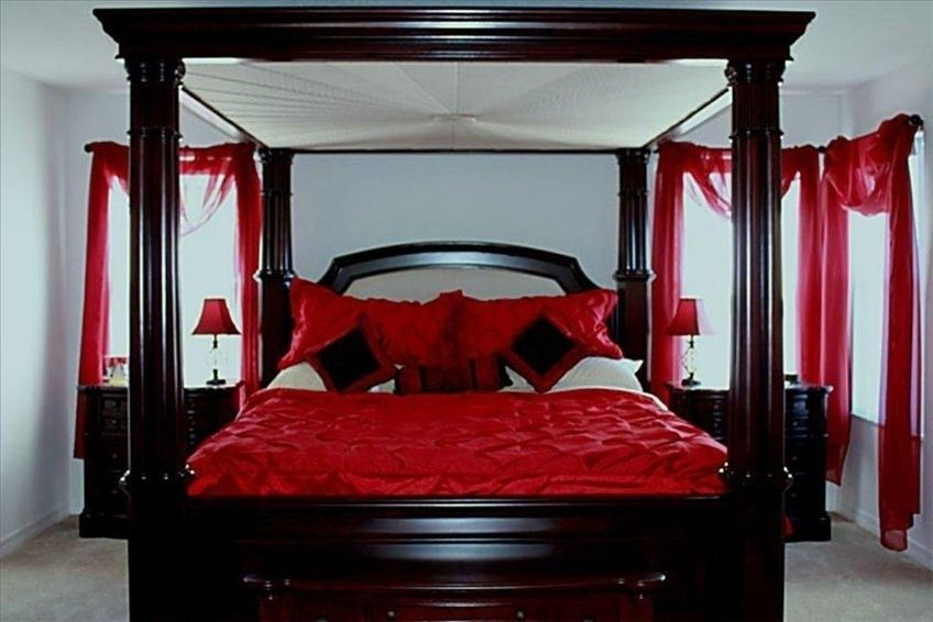 Master Bedroom King Size Four Poster Bed For The Home
