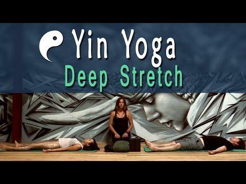 58 min yin yoga deep stretch yoga for athletes with laila