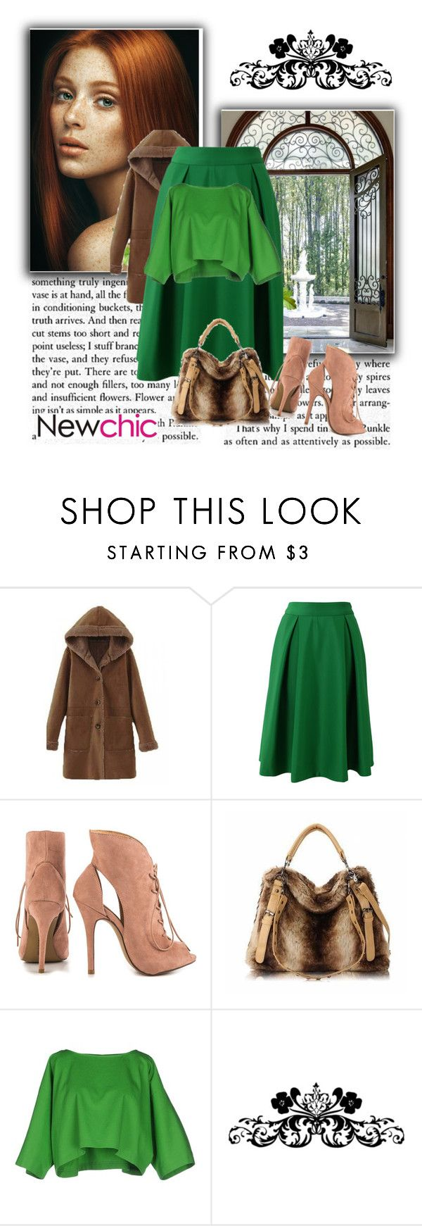 """""""Newchic"""" by mirelacamdzic ❤ liked on Polyvore featuring Chicwish, Chinese Laundry, Maison About and newchic"""