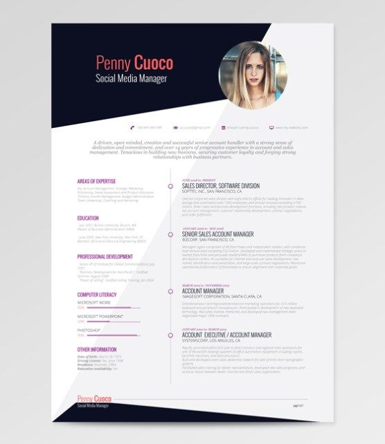 Eye Catching Free Resumes for College Students and Grads - eye catching resumes
