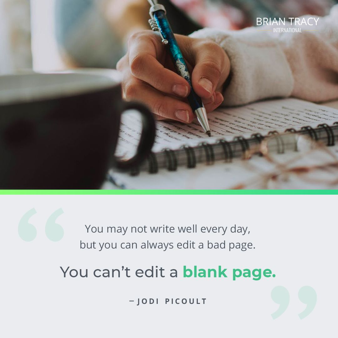To Become The Best Writer You Simply Have To Start