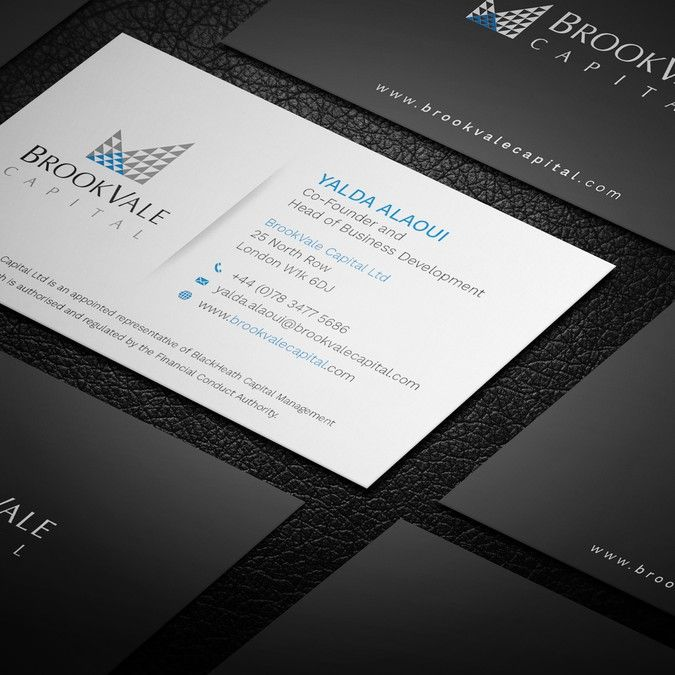 Design An Elegant And Slick Business Card For A Systematic London Based Investment Manag Sophisticated Business Card Business Card Design Create Business Cards