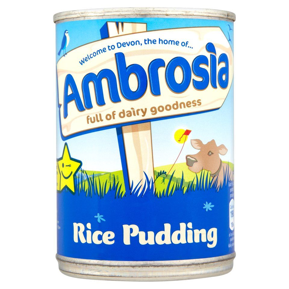 Ambrosia Rice Pudding 400g Rice Pudding Creamed Rice Ambrosia Custard