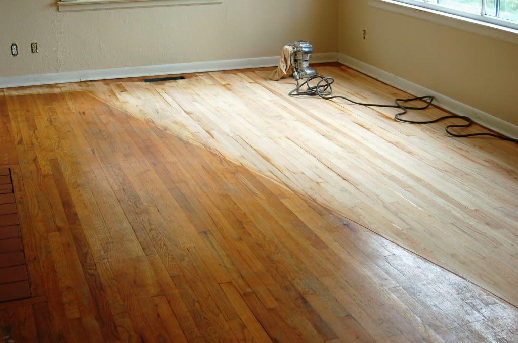 resurfacing hardwood floors without sanding http