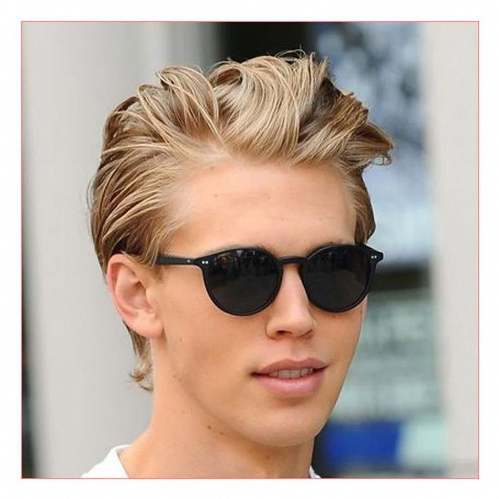 Thin Medium Mens Haircuts That Look Trendy Thinmediummenshaircuts Men Blonde Hair Blonde Haircuts Thin Blonde Hair
