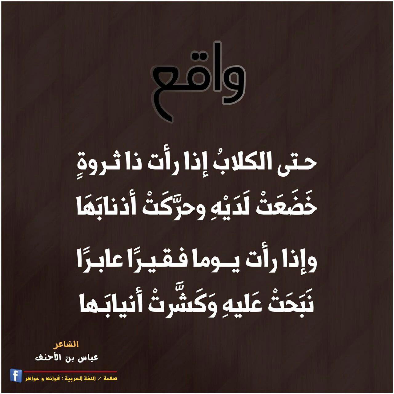واقع شعر عباس بن الأحنف Poetry Math Arabic Calligraphy
