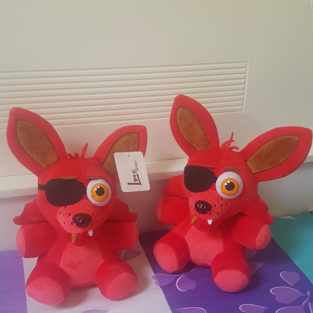 How To Make Your Own Five Nights At Freddys Foxy Plush - Five nights at freddy s foxy plush toys lusy store