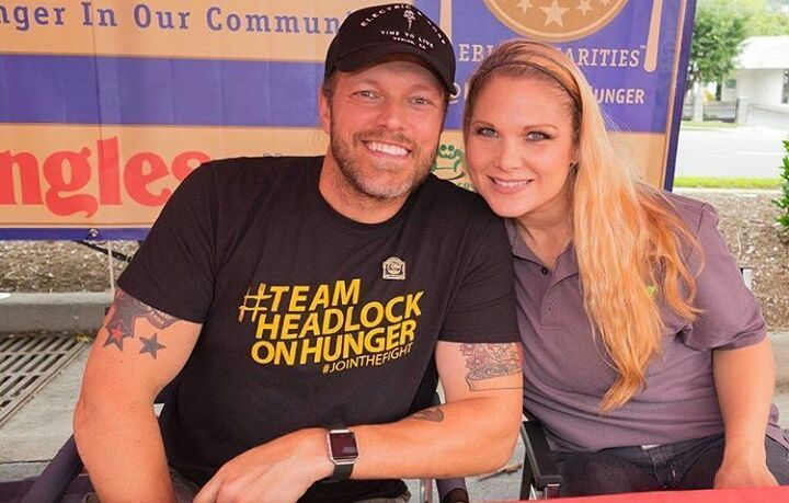 WWE Hall of Fame couple Edge (Adam Copeland) and Beth Phoenix ...