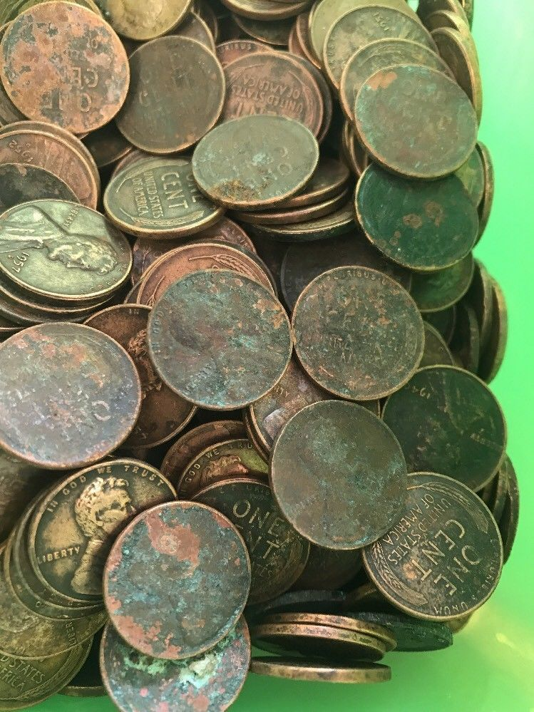 500 Unsearched Wheat Pennies W/ 1 1909 VDB + Indian Head