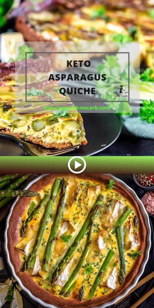 Keto Asparagus Quiche images