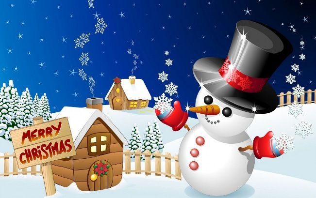 Happy Merry Christmas Day Wallpaper Download Hd Free Christmas