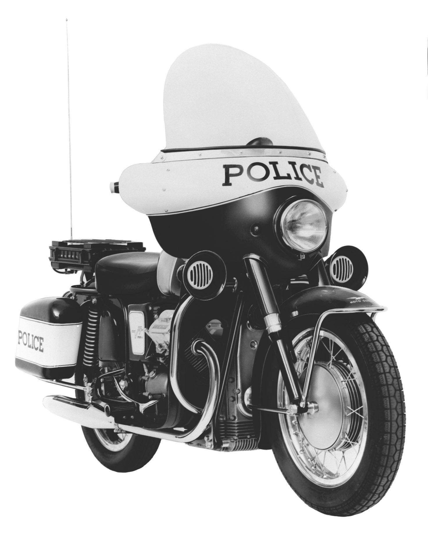 Moto Guzzi V7 Police 1968 - 1969 #moto #guzzi #motoguzzi #california #V7#police #history #motorbike #motorcycle
