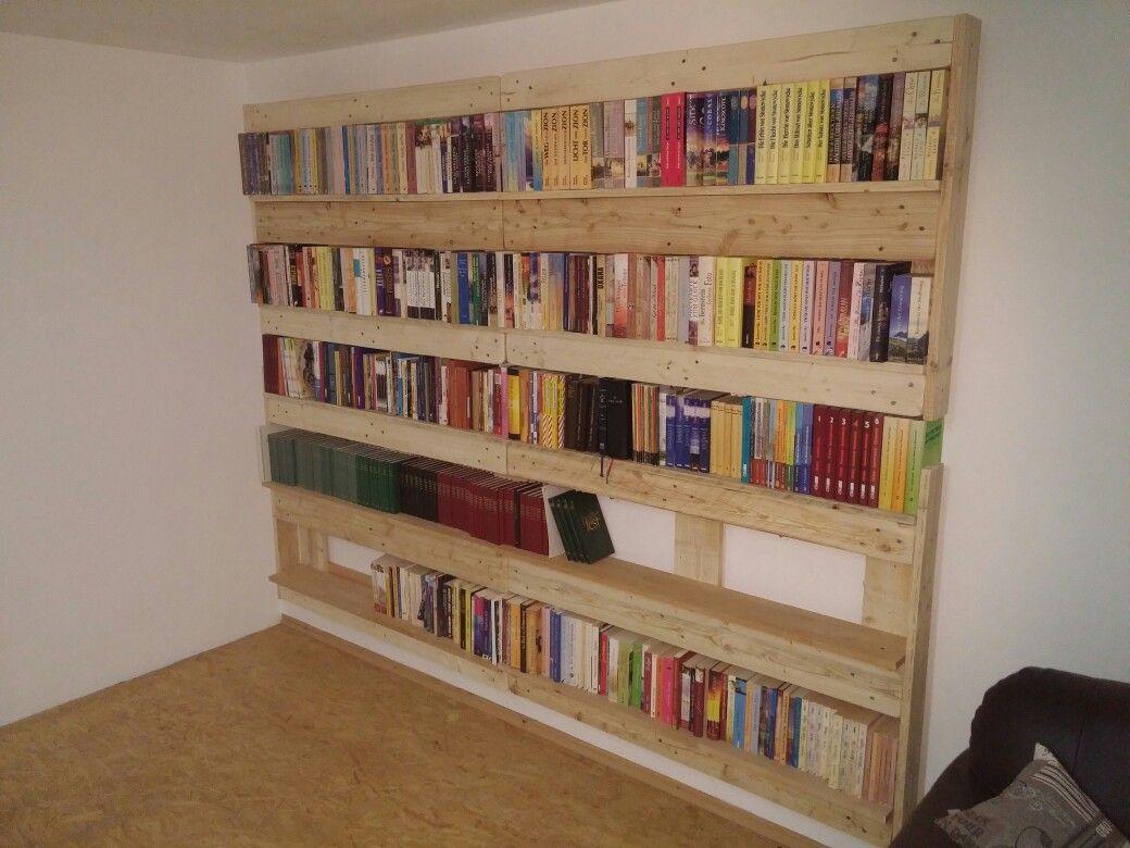 Favorit Bücherregal aus Paletten | Living room in 2019 | Regal aus KQ71