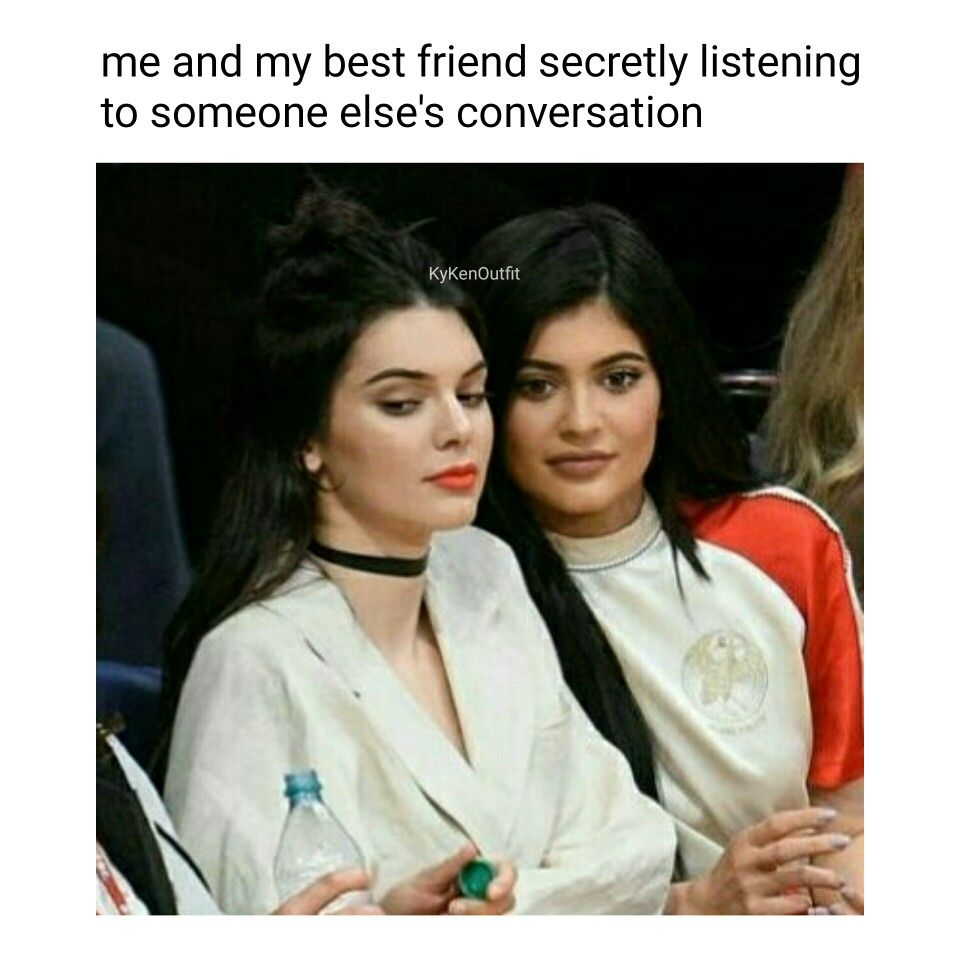 Best Friend Goals Follow kykenoutfit for more. Funny