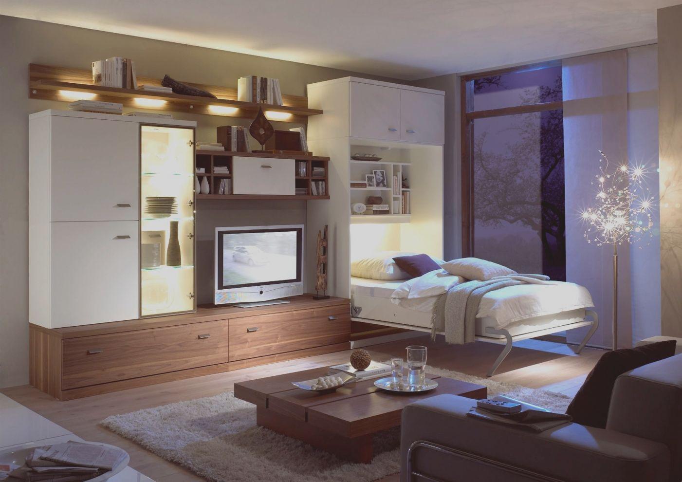 schlaf und wohnzimmer kombinieren
