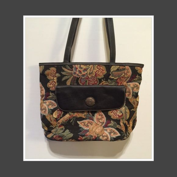 Lovely Tapestry Bag Mitzi International Has 2 Large Compartments Inside Plus Zippered Compartment Mitzy Bags Shoulder