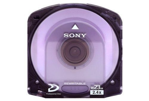 Sony PFD23A/2 Single Layer 23GB Rewritable Optical Disc for