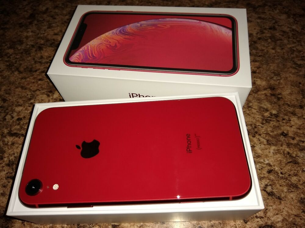 New Apple iPhone XR 64 GB GSM Unlocked Verizon T-Mobile AT&T