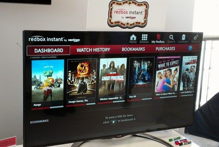 Redbox Instant is coming to Google TV soon, Roku up next