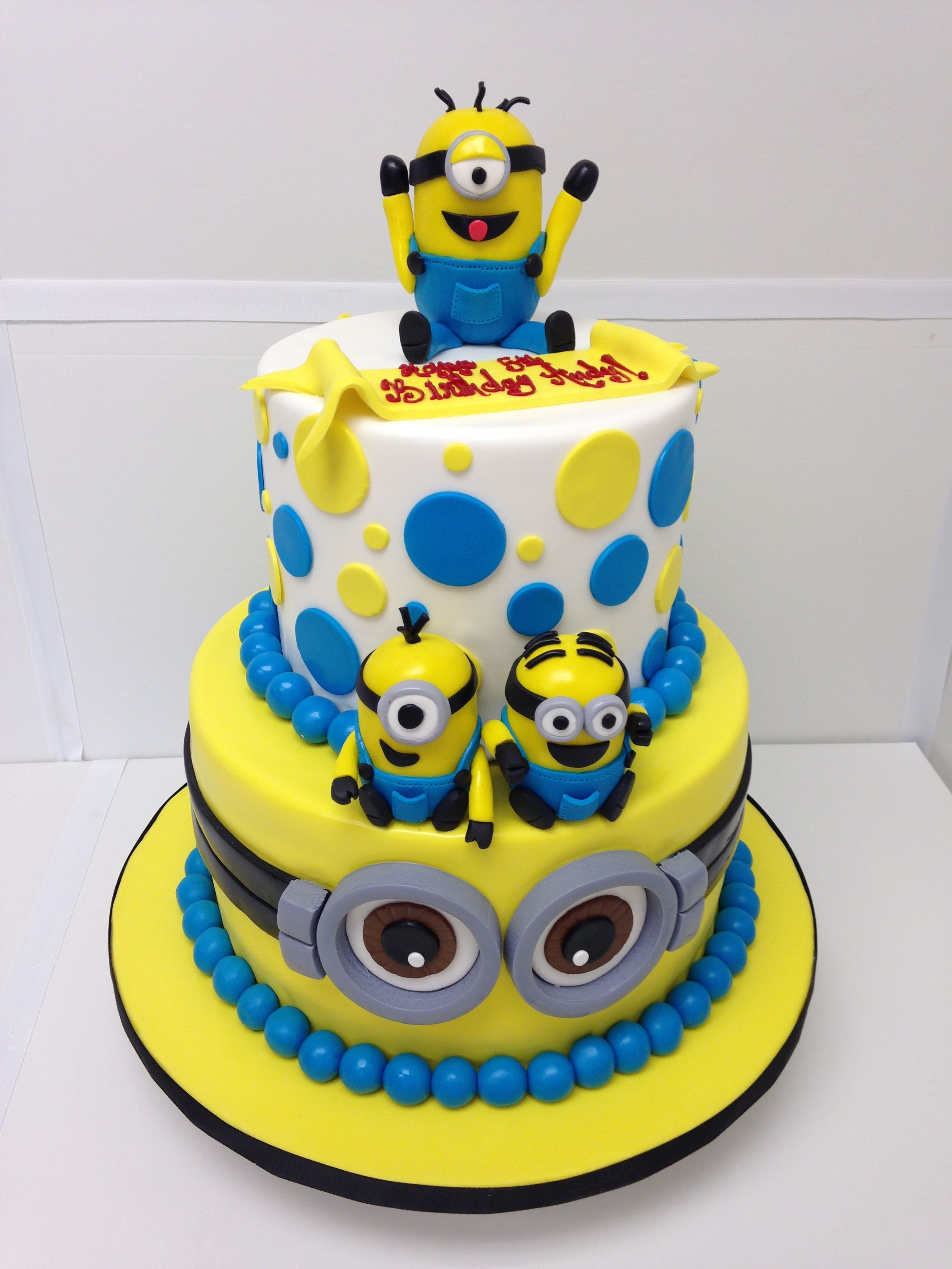 Minions Cake Despicable Me Minions Party Pinterest Birthday