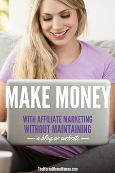 Verdienen Sie Geld mit Affiliate Marketing, ohne einen Blog oder eine Website zu pflegen   – work