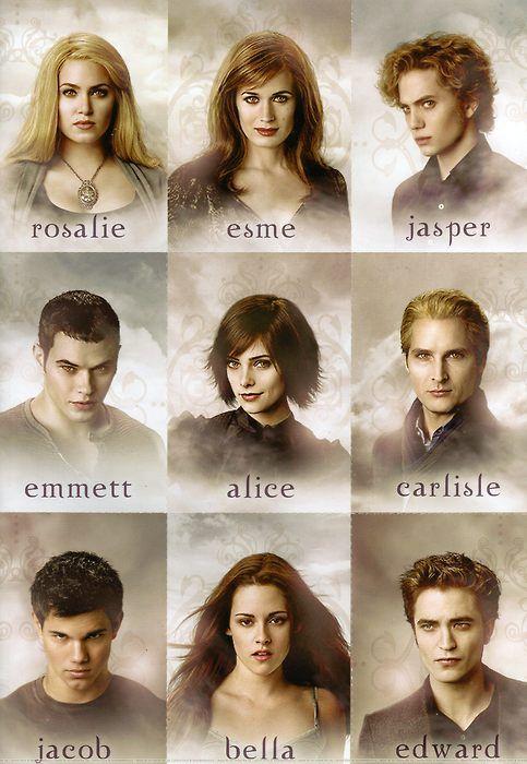 Twilight Saga Thenewmoon Eclipse Breakingdawn Cullens Bella