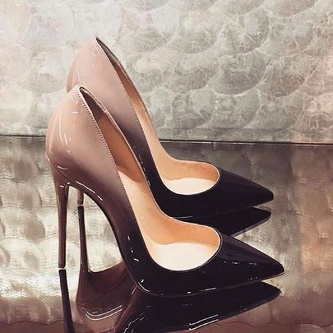 WEBSTA @ xxeena - OBSESSED Christian Louboutin, So Kate Pump, Pigalle  Follies 120mm,