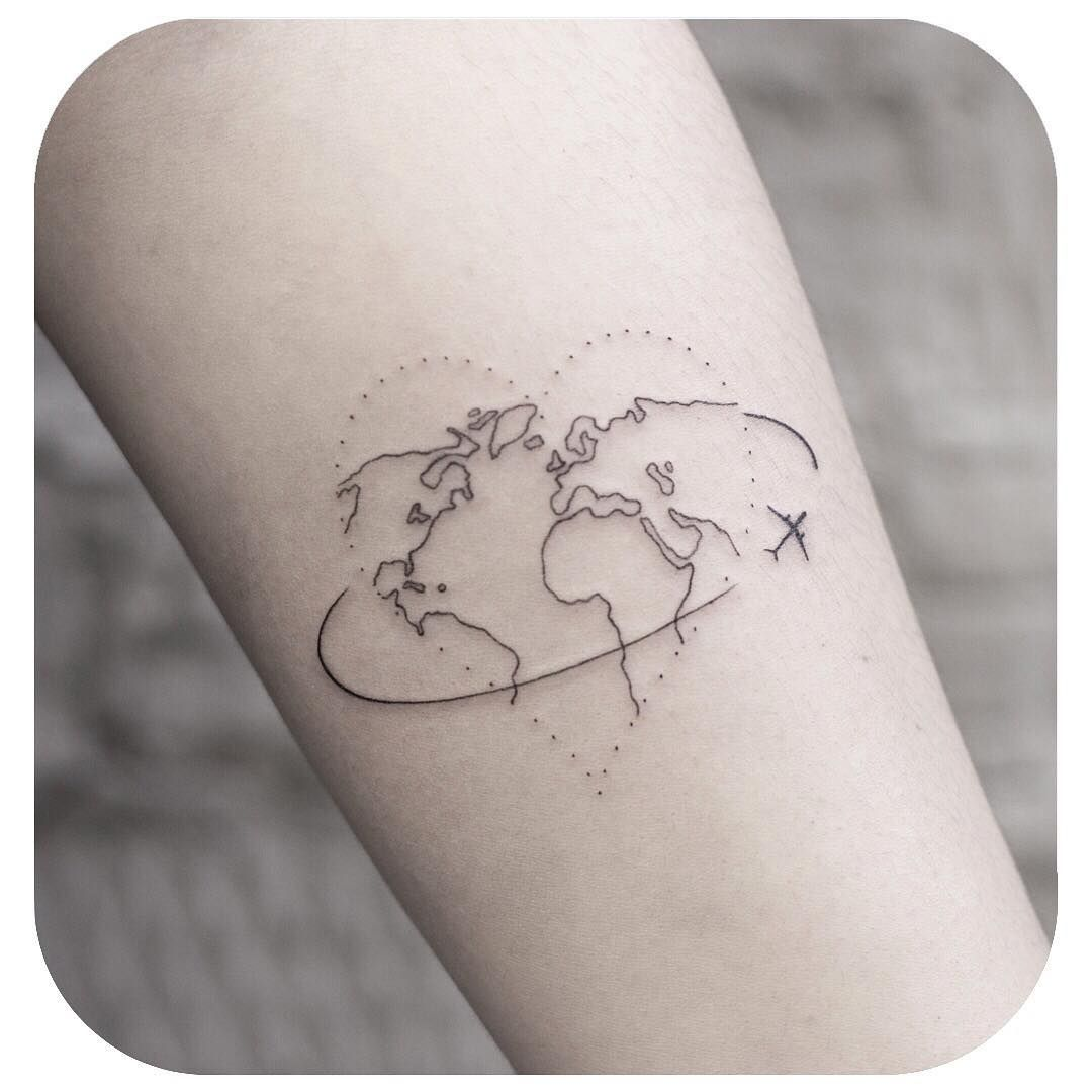 Small Tattoo Models Minimalistic tattoo cards on the wrist I was not in the sea looking for the mysterious   by @small.minitattoo