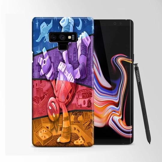 Ninja Turtles Dance Samsung Galaxy Note 9 Case | Moccase
