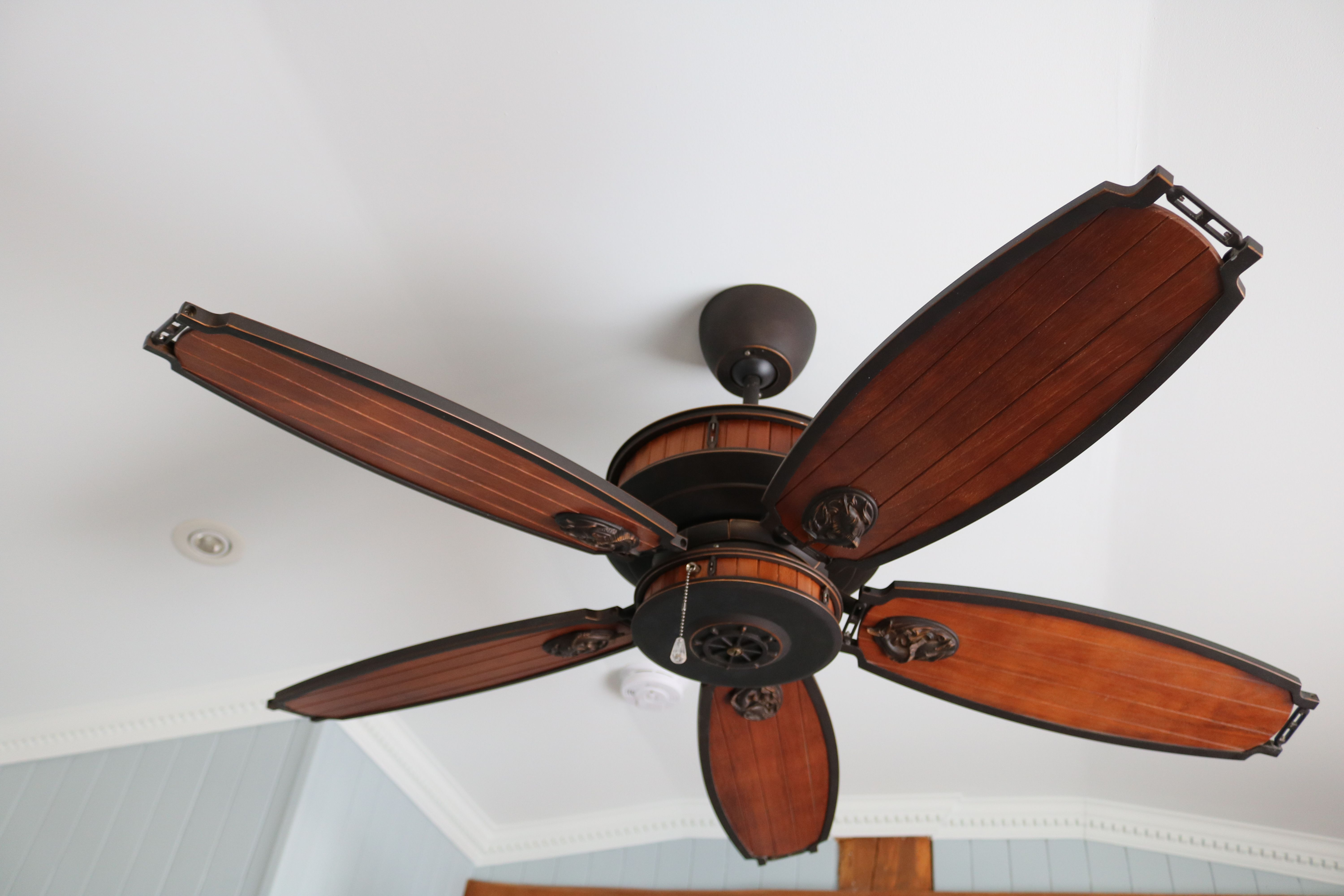 Nautical Themed Fan Its The Little Things Ceiling Fan Nautical Theme Cottage