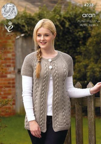 Modèles de tricot   Acheter des livres de tricot en ligne   Deramores   – bayan yelek