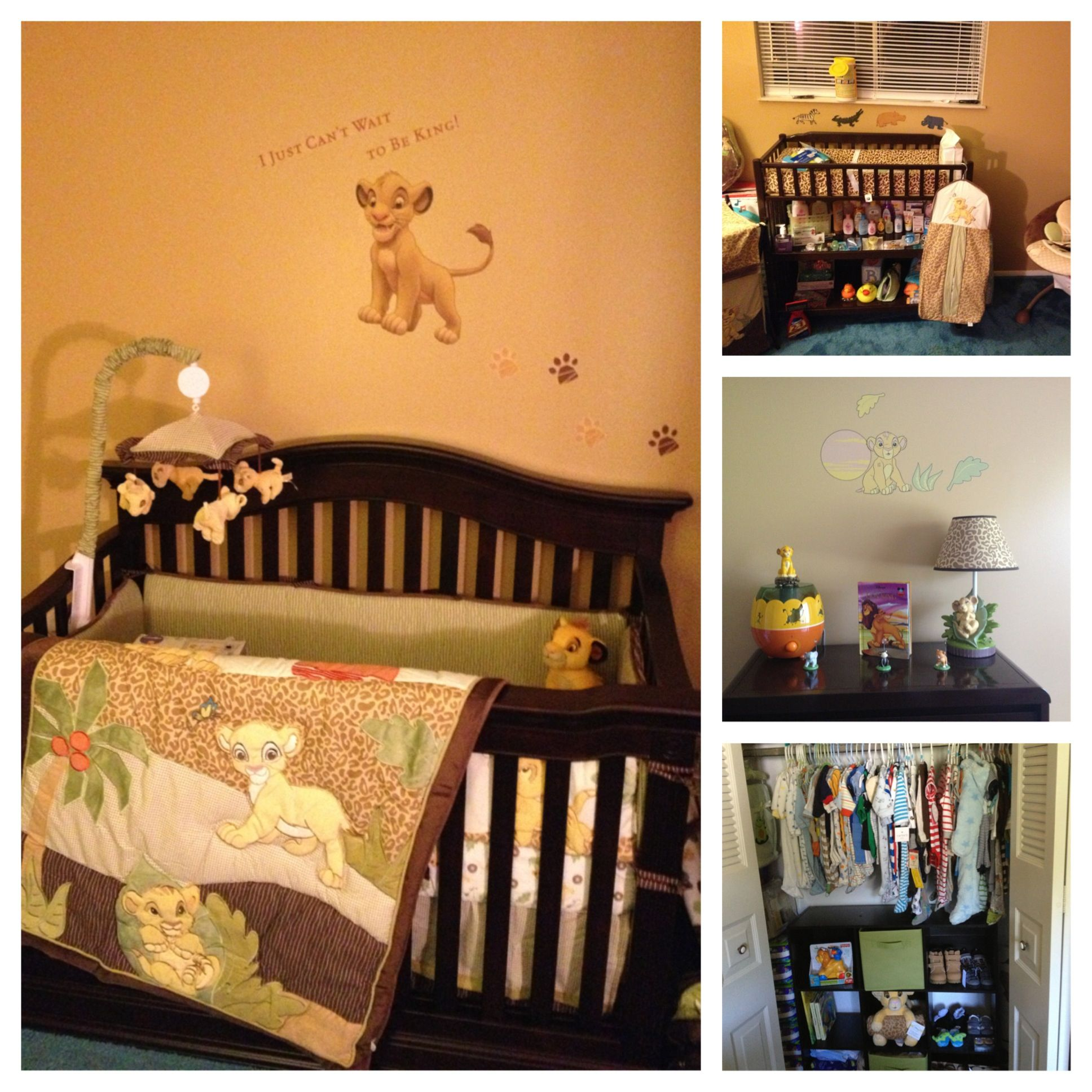 My Baby Boys Lion King Room Baby Boy Nursery Themes