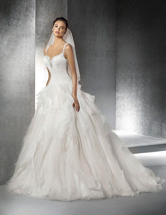 vestidos para novia románticos y modernos de san patrick | pinterest