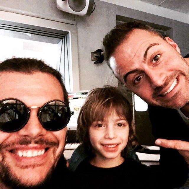 #GianlucaGrignani Gianluca Grignani: Che trio!!! ;-) ;-)