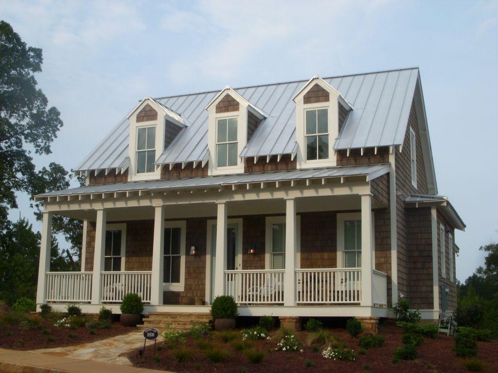 Serenbe home designed by mitch ginn cedar shake for Cedar shake house plans