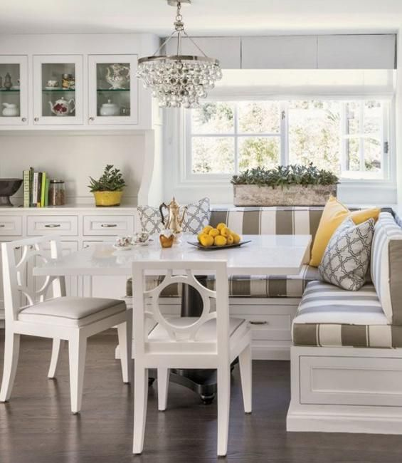 Space Saving Interior Design Ideas for Corner Kitchen Nooks and Dining Areas