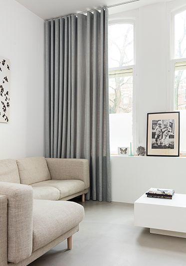 gordijnen timmermans indoor design minimalistisch huis woonkamerdesign jaloezien gordijnen slaapkamers