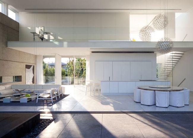 Hervorragend High Ceiling Modern Glass House Pitsou Kedem