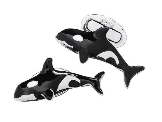 Orca Whale Killer Whale Cufflinks