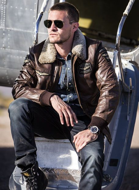 get a chance to win a PME Legend vs Breitling Navitimer with a Leather Hudson Bomber Jacket