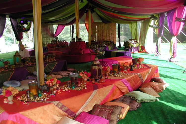 Tented party amazing table settings u0026 decorations moroccan feel/theme & Tented party amazing table settings u0026 decorations moroccan feel ...
