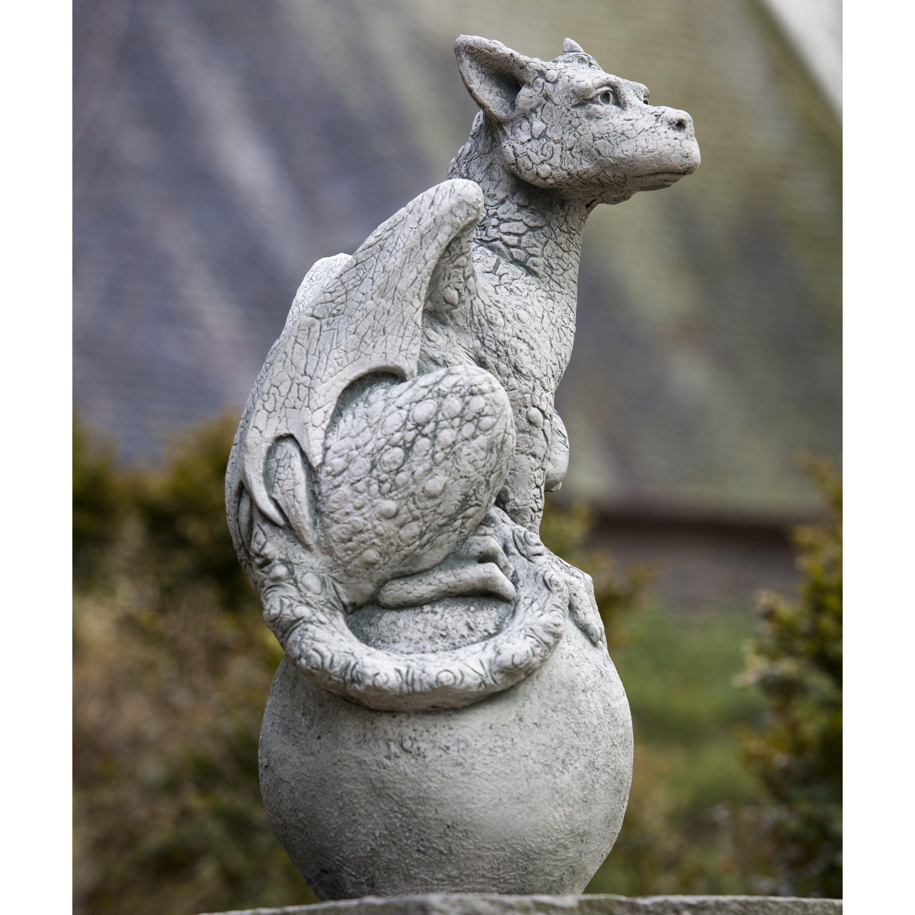 Garden Statues Nh: Garden Gargoyle Stone